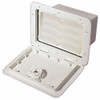 """White 11"""" X 15"""" Cam Tackle Hatch"""