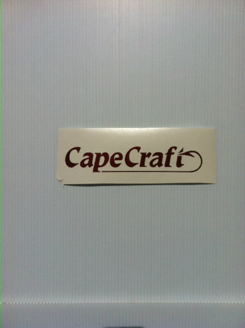 Cape Craft decals pair small