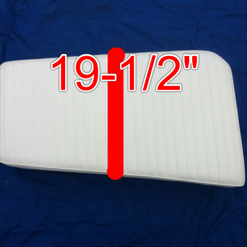 """Cape Craft Bow Cushions Starboard 37"""" X 19"""" fits 19Bay 22bay,19tunnel, 22tunnel and other models"""