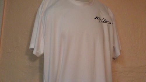 Quick dry performance t-shirt with Key Largo logo