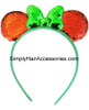Christmas Mickey Mouse Sequin Head Band - 1 Pc.