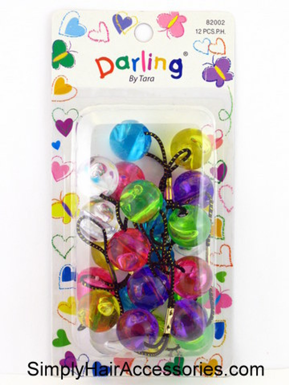 Bubble Twinbead Ponytailers