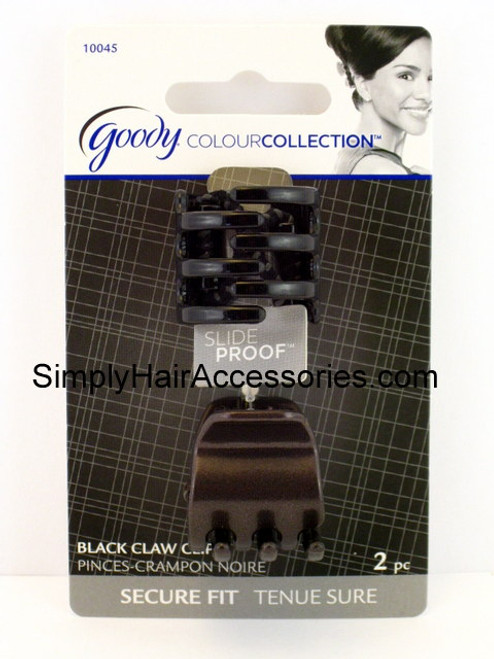 Goody Colour Collection Slideproof Mini Claw Clips -  2 Pcs.