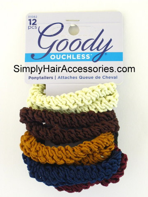Goody Lisa Rope Ponytailers - 12 Pcs.
