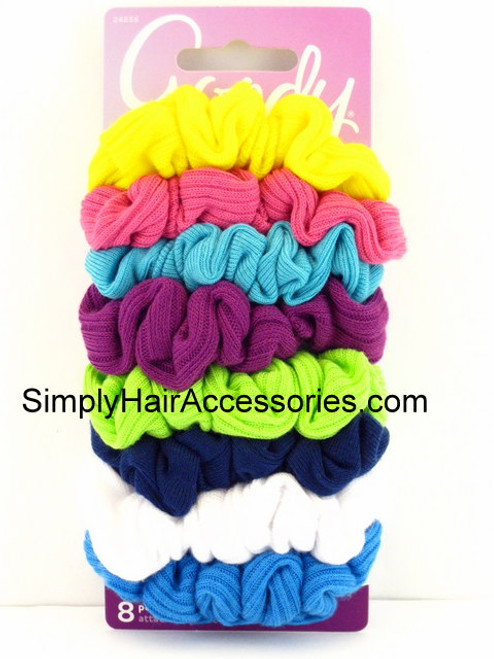 Goody Ouchless Jersey Variety Scrunchies - 8 Pcs.