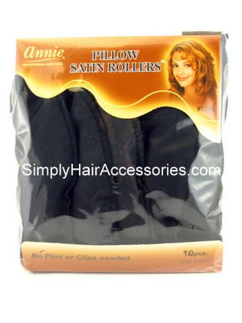 Annie Satin Pillow Hair Rollers - 10 Pcs.