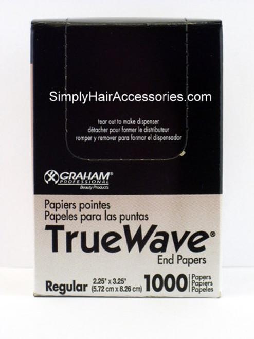Graham True Wave Roller End Papers - Regular - 1000 Pcs.