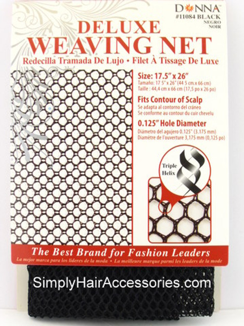 Donna Deluxe Weaving Net - Black