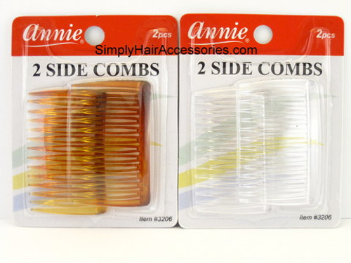 Annie Side  Combs -  2 Pcs.