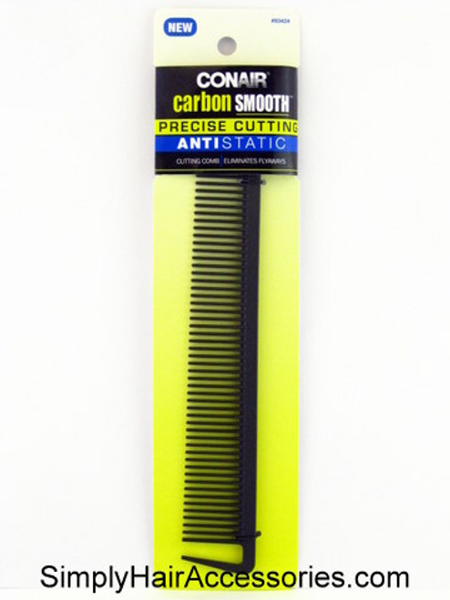 Conair Carbon Smooth Anti-Static Cutting Comb