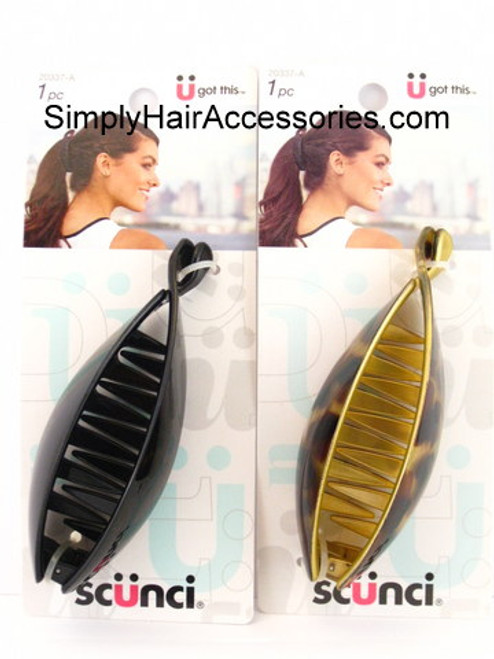 Scunci Banana Clincher Comb - 1 Pc.