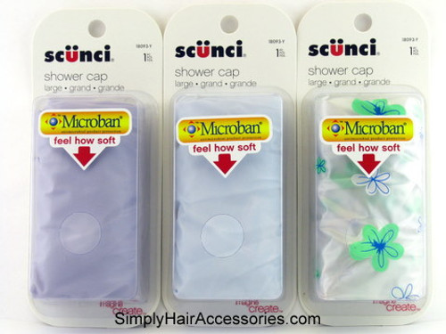 Scunci Large Shower Cap - 1 Pc.