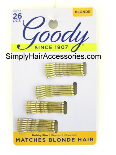 Goody Colour Collection Blonde Mini Bobbies - 26 Pcs.