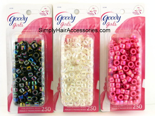 Goody Girls Braiding Beads - 250 Pcs.