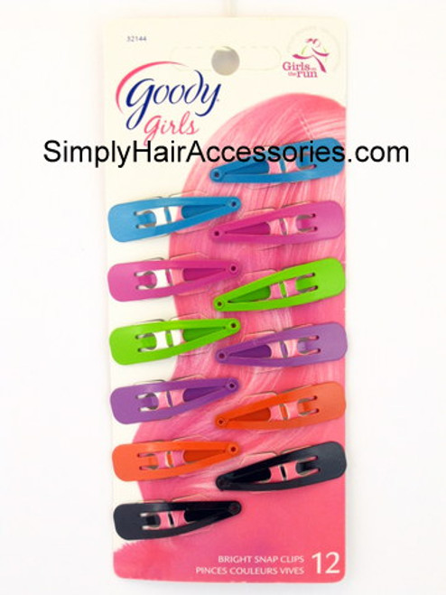 Goody Girls Bright Contour Clips - 12 Pcs.