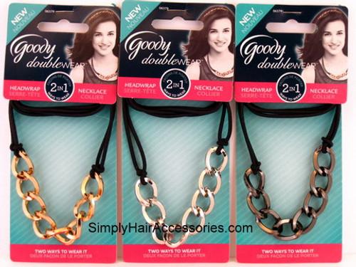 Goody Doublewear 2 In 1 Headwrap/Necklace - 1 Pc.
