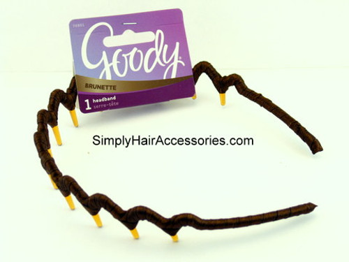 Goody Colour Collection Ribbon Wrapped Head Band - Brunette