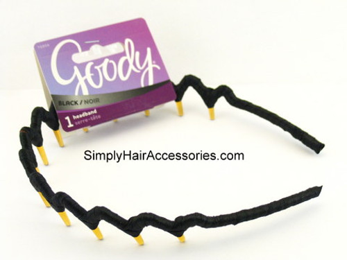 Goody Colour Collection Ribbon Wrapped Head Band - Black