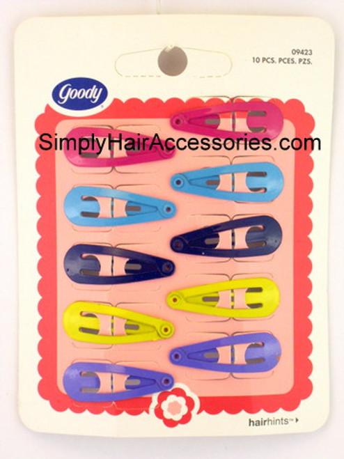 Goody Girls Contour Hair Clips - 10 Pcs.