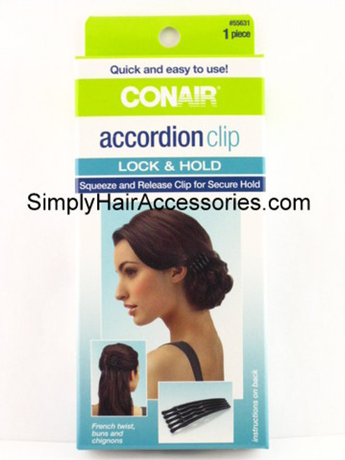 Conair Accordion Clip - 1 Piece Kit