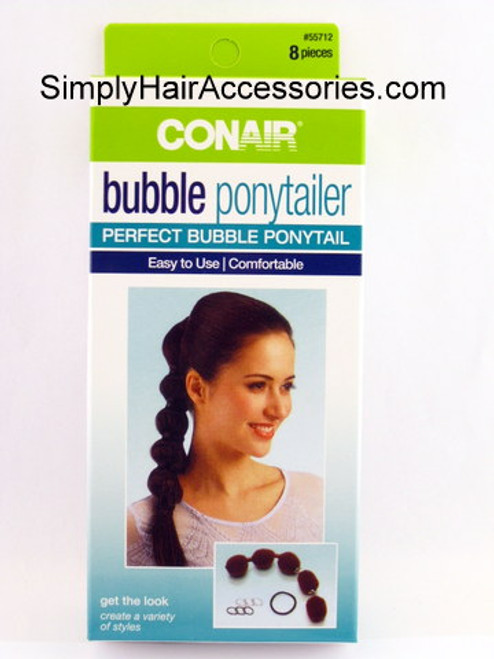 Conair Bubble Ponytailer - 8 Piece Kit