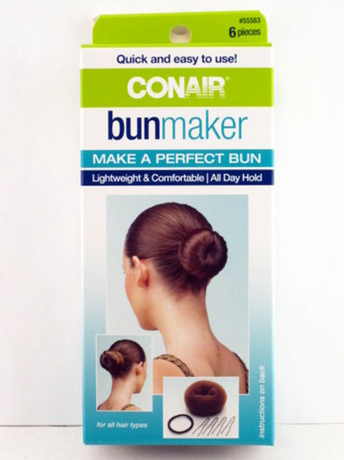 Conair Bun Maker - 6 Piece Kit