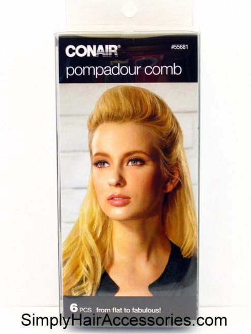 Conair Pompadour Comb - 6 Piece Kit
