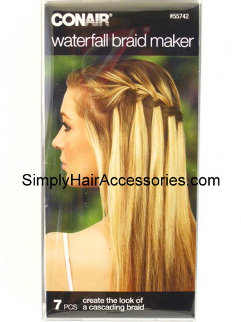 Conair Waterfall Braid Maker - 7 Piece Kit