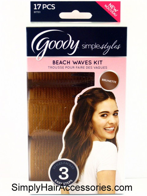 Goody Simple Styles Beach Waves Kit - 17 Pcs.