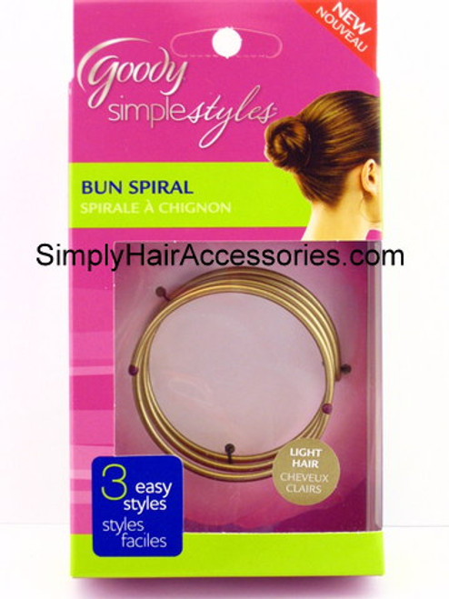 Goody Simple Styles Bun Spiral