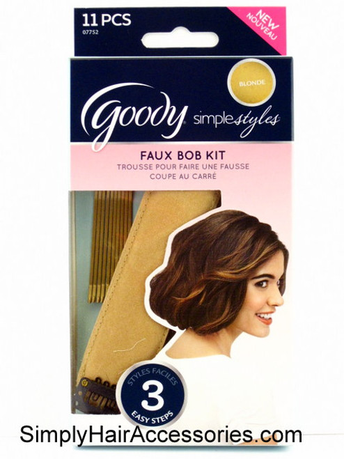 Goody Simple Styles Faux Bob Kit - 11 Pcs.