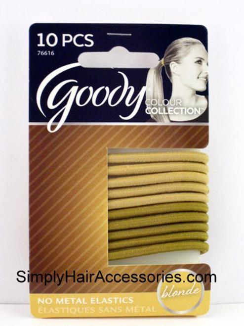 Goody Colour Collection Blonde Hair Elastics  - 10 Pcs.