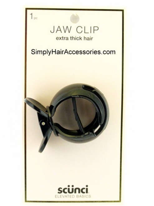 Scunci Extra Thick Hair Jaw Clip - 1 Pc.