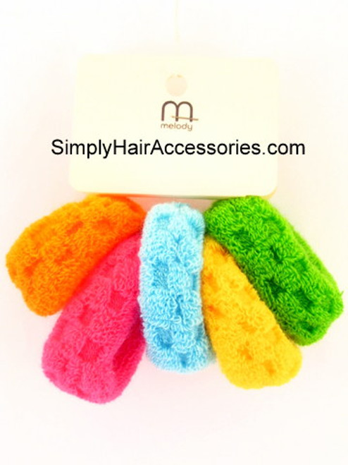 Melody Assorted Ponytailers - 5 Pcs.