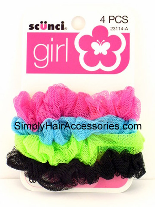 Scunci Girl Mini Twisters - 4 Pcs.