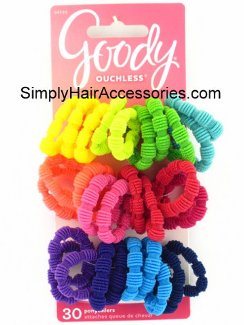 Goody Ouchless Ponytailers - 30 Pcs.