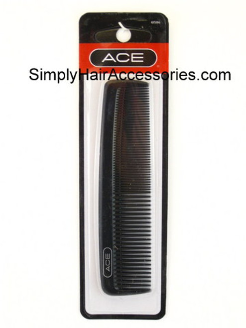"ACE Black 5"" Pocket Hair Comb"