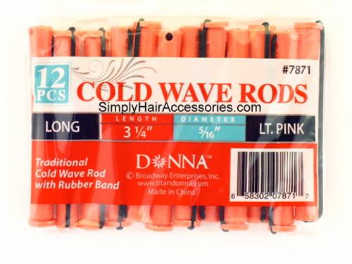 """Donna 5/16"""" Long Cold Wave Rods - 12 Pcs."""