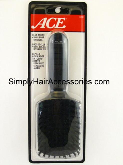 Ace 100% Boar Bristle Club Brush