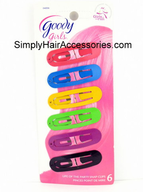 Goody Girls Life Of The Party Snap Clips - 6 Pcs.