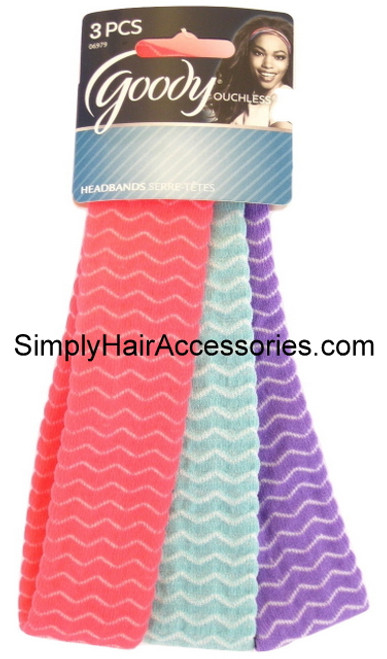 Goody Ouchless Head Bands - 3 Pcs.