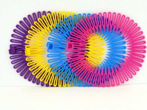 Sisi Collection Nylon Flexi Head Bands - 4 Pcs.
