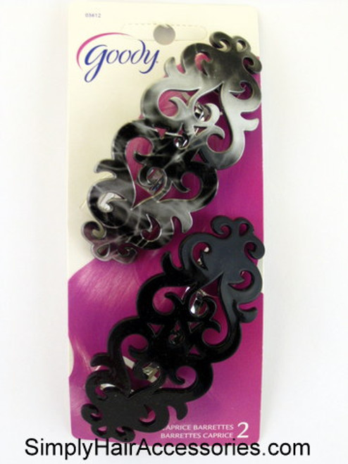 Goody Caprice Autoclasp Hair Barrettes - 2 Pcs.