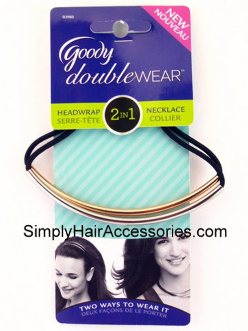Goody Doublewear 2 In 1 Headwrap-Necklace - 1 Pc.