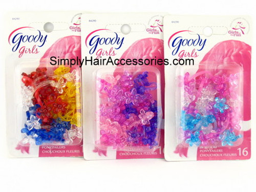 Goody Girls Back In Bloom Ponytailers - 16 Pcs.