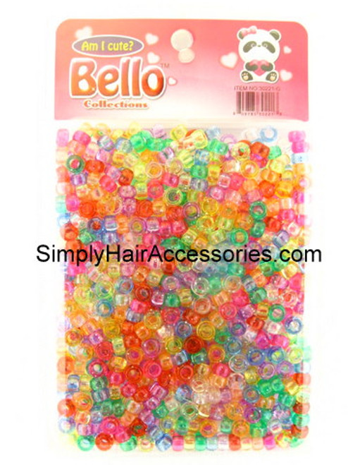 Bello Pony Braiding Hair Beads - Approximately 700 Pcs.