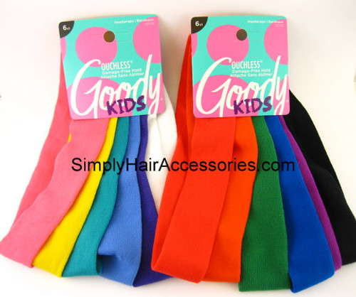 Goody Kids Ouchless Head Bands - 6 Pcs.