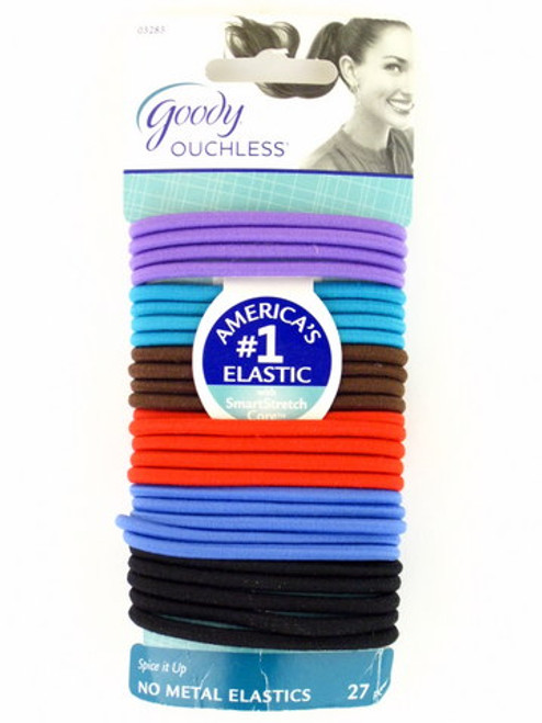"""Goody Ouchless """"Spice It Up Colors"""" Elastics - 27 Pcs."""