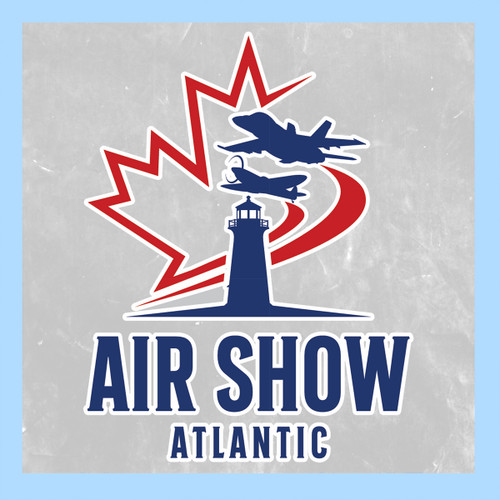 Air Show Atlantic Window Cling