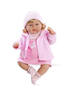 Ann Lauren 20 Inch Baby Girl Doll Rosa